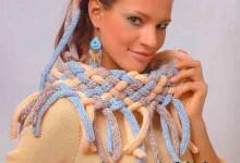 Плетеный воротник